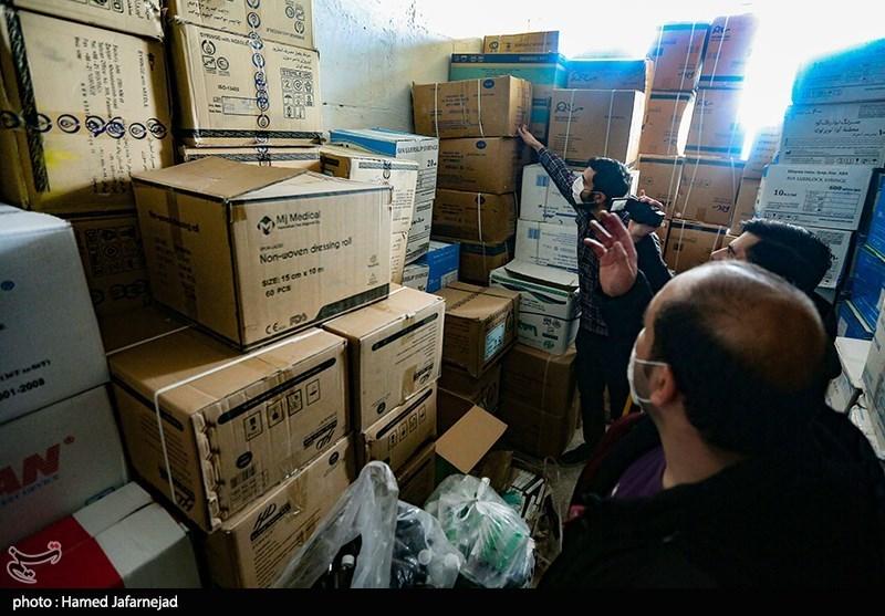 wharehouse of hoarded goods
