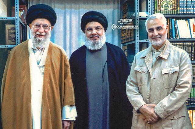 Khamenei, Nasrallah and Soleimani