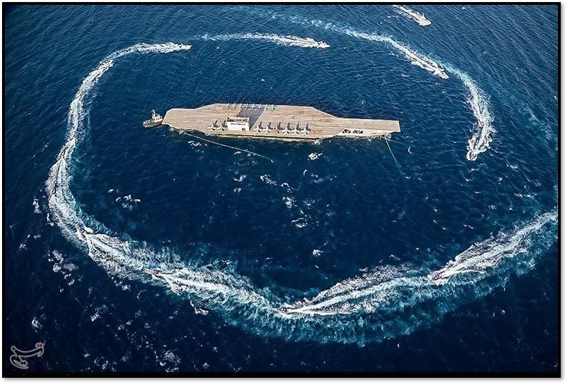 Encircled carrier