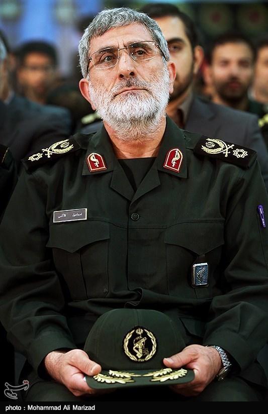 Esmail Ghaani, Qods Force Commander