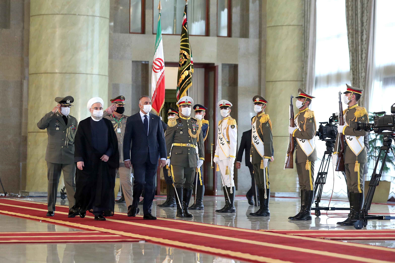 Kadhimi arrives in Tehran