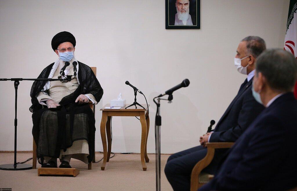 Khamenei hosts Kadhimi