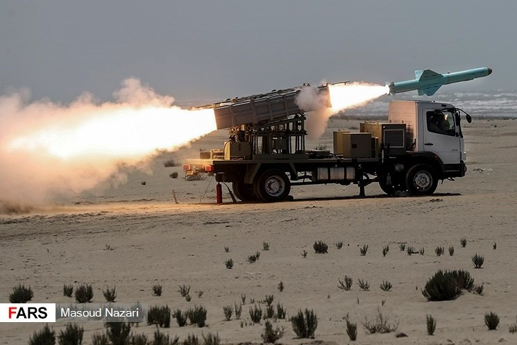 Truck fire missile
