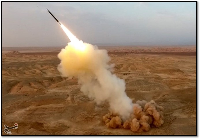 Ballistic missile from underground silo