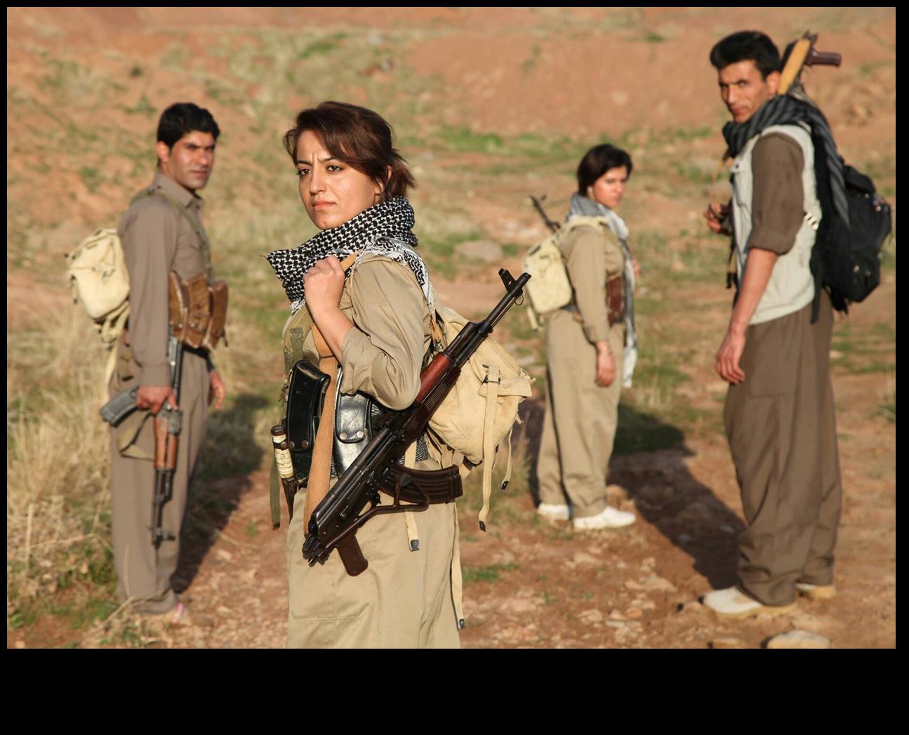 Female PDKI peshmerga