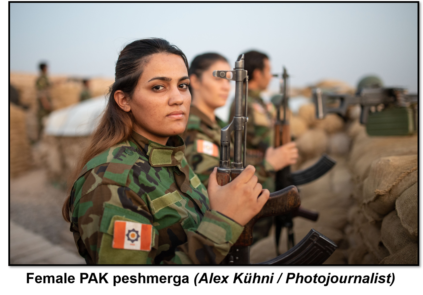 Female PAK fighters