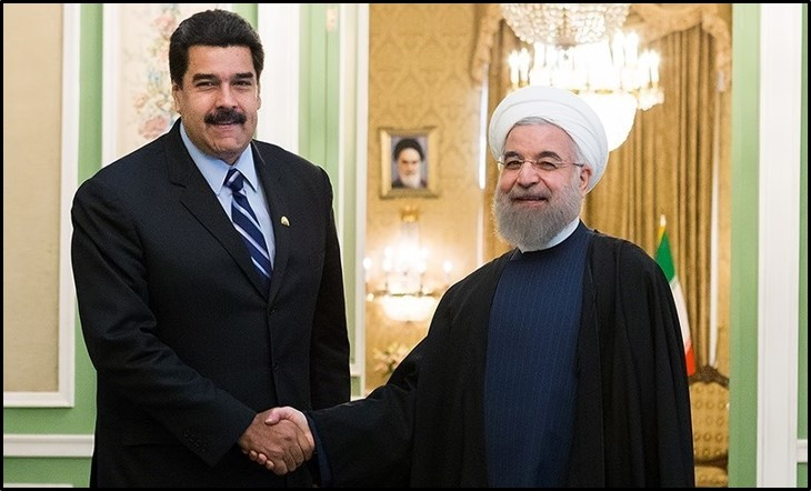 Rouhani and Maduro
