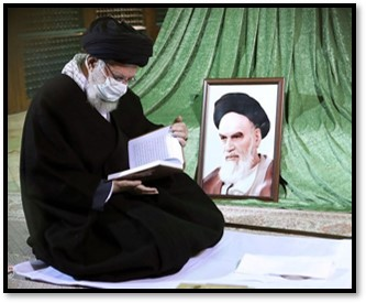 Khamenei visits Khomeini's mausoleum on Feb. 1