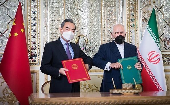 Iran and China sign a strategic partnership agreement