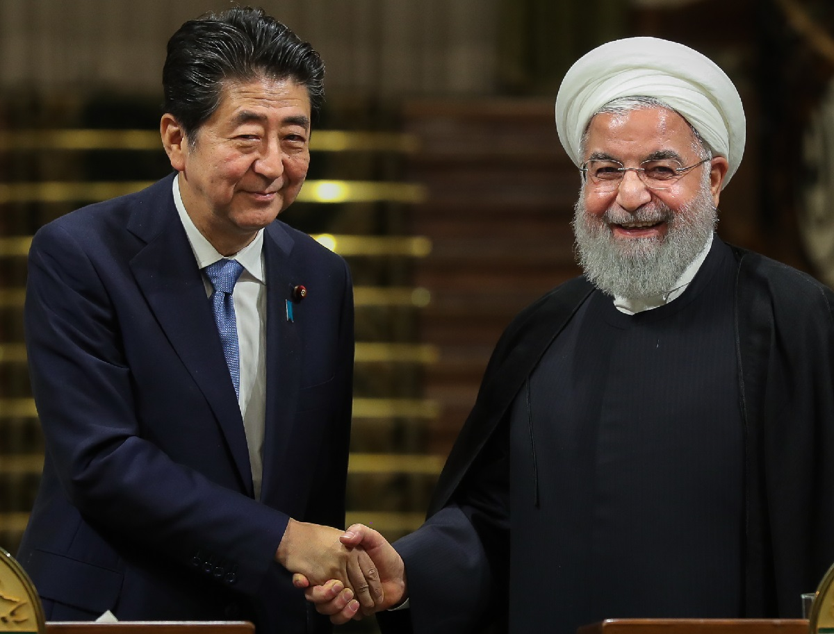 Abe and Rouhani