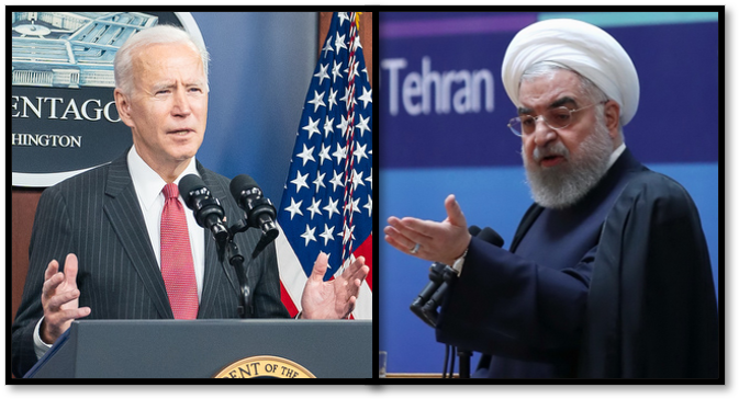 Biden and Rouhani