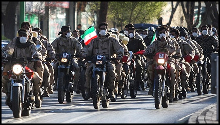 Military units deploy to disinfect streets in Isfahan