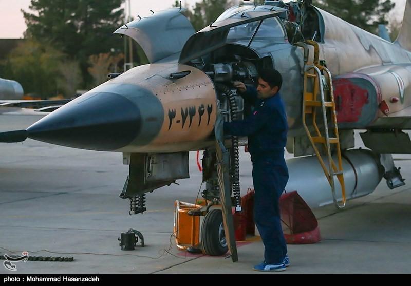 Fighter repair