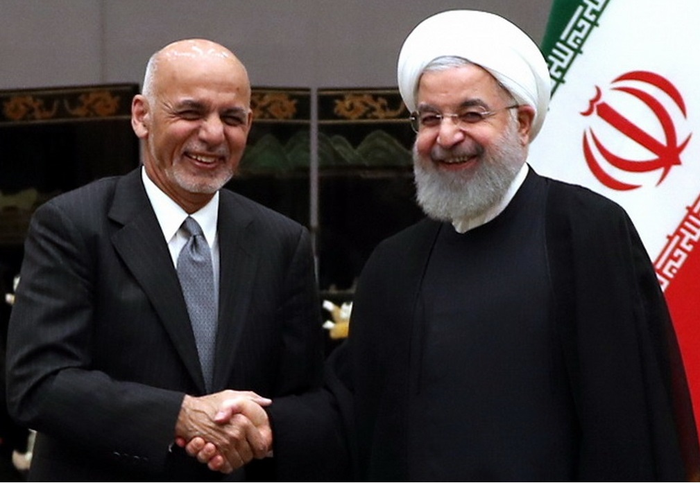Ghani and Rouhani