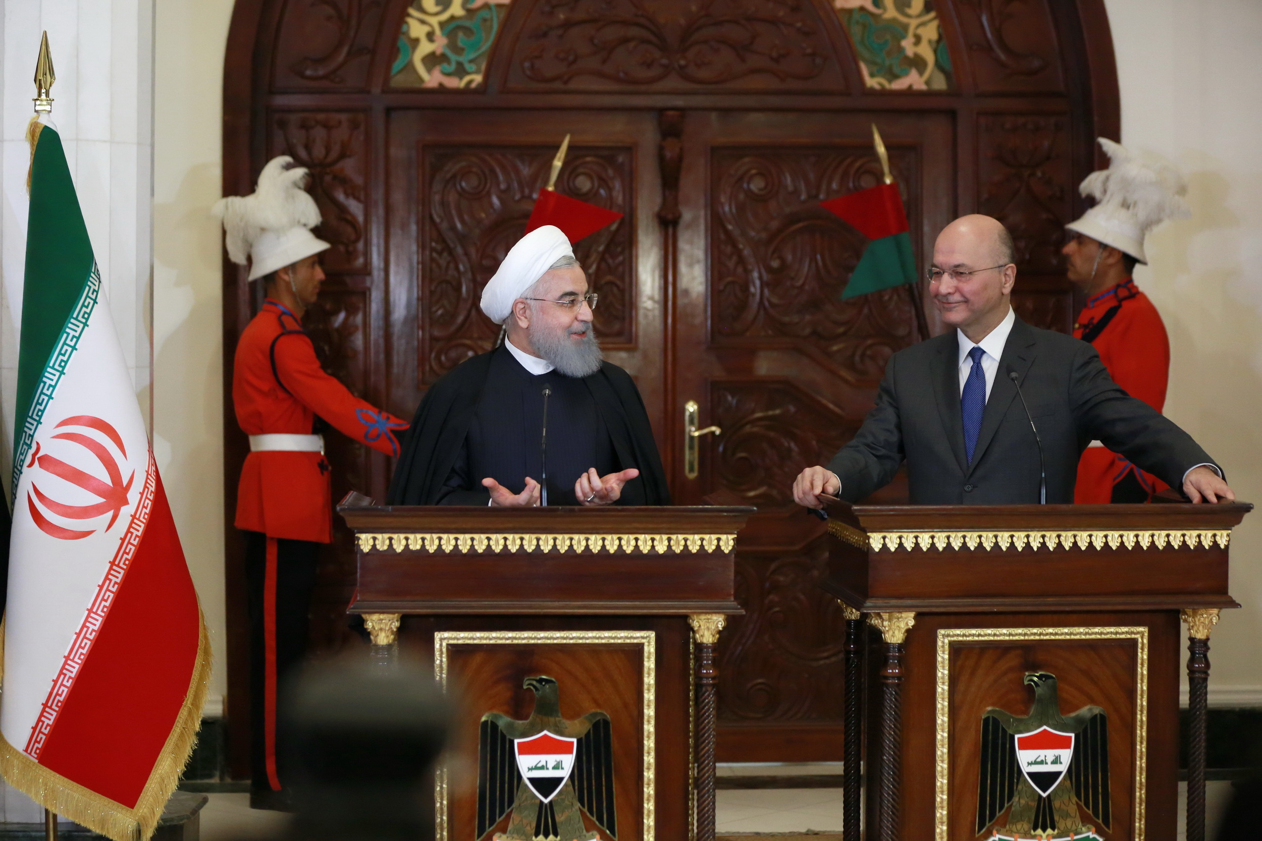 Rouhani and Salih