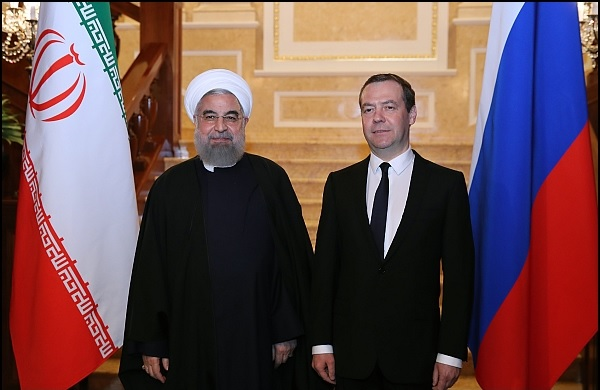 Rouhani and Medvedev
