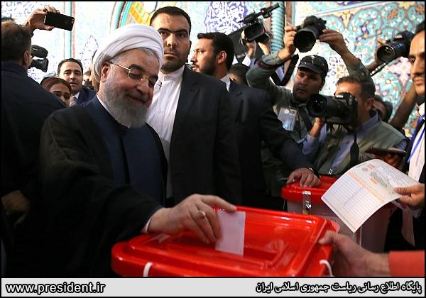 Rouhani vote