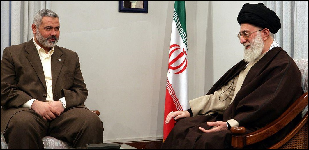 Khamenei and Haniyeh
