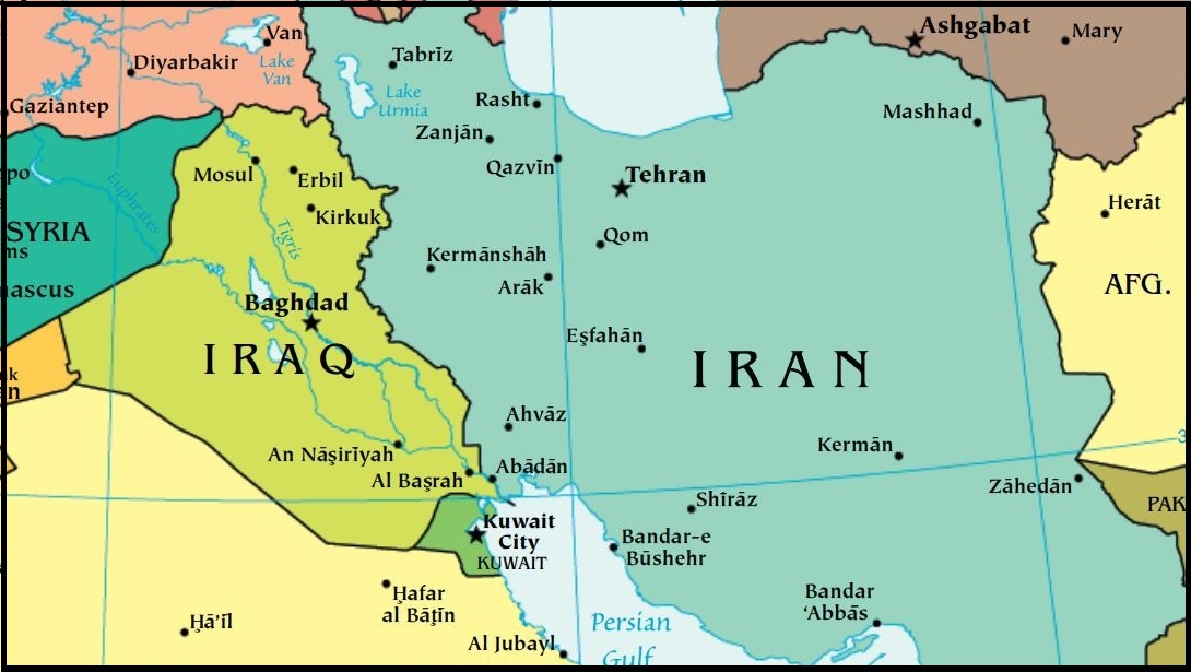 Map Of Iran And Iraq Part 1: Iran's Role in Iraq | Wilson Center Map Of Iran And Iraq