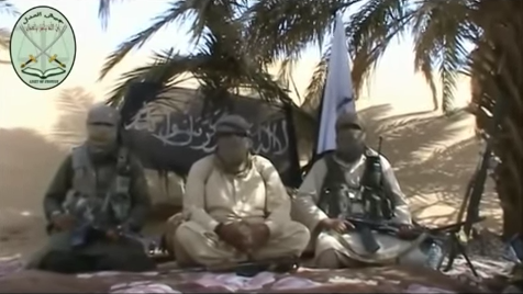 Screenshot from Jaish ul Adl video