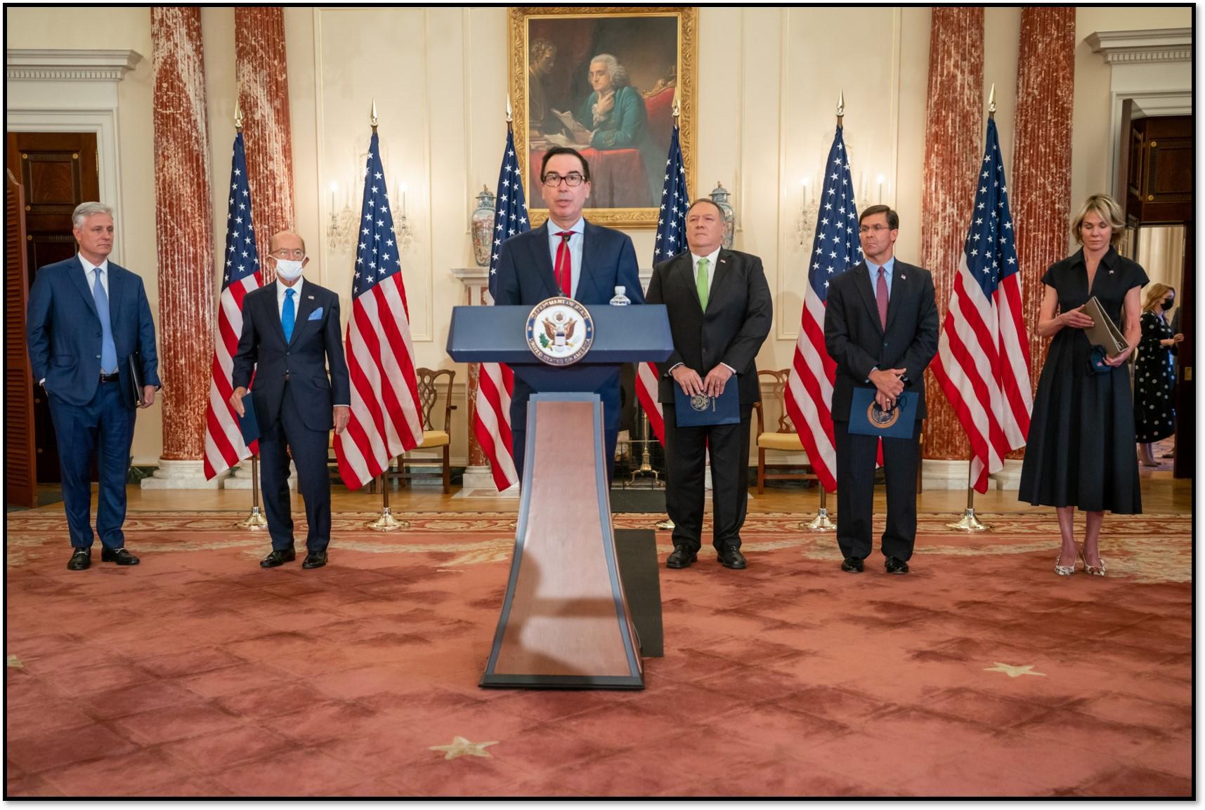 Mnuchin announces sanctions
