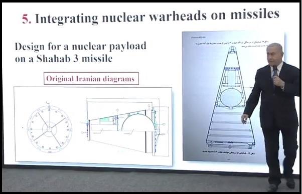 Netanyahu on Iranian warheads