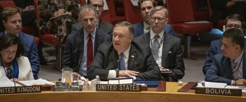 Pompeo at the United Nations