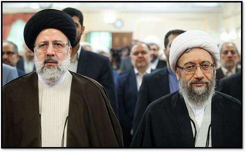 Raisi and Larijani