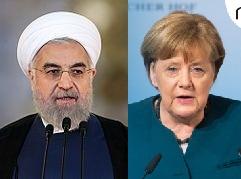Rouhani and Merkel