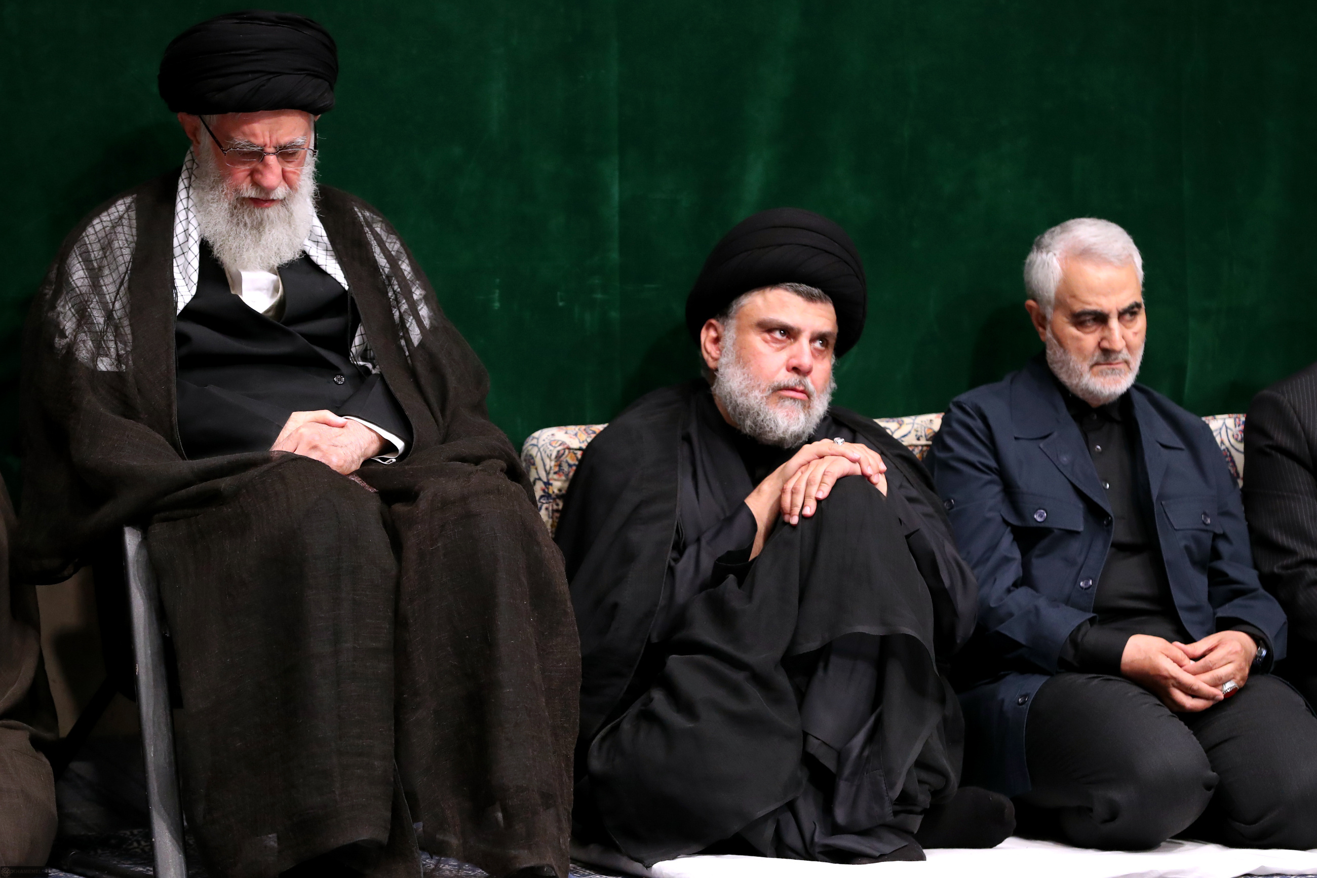 Khamenei, Sadr and Soleimani