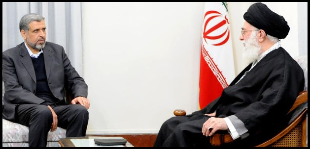 Shallah and Khamenei