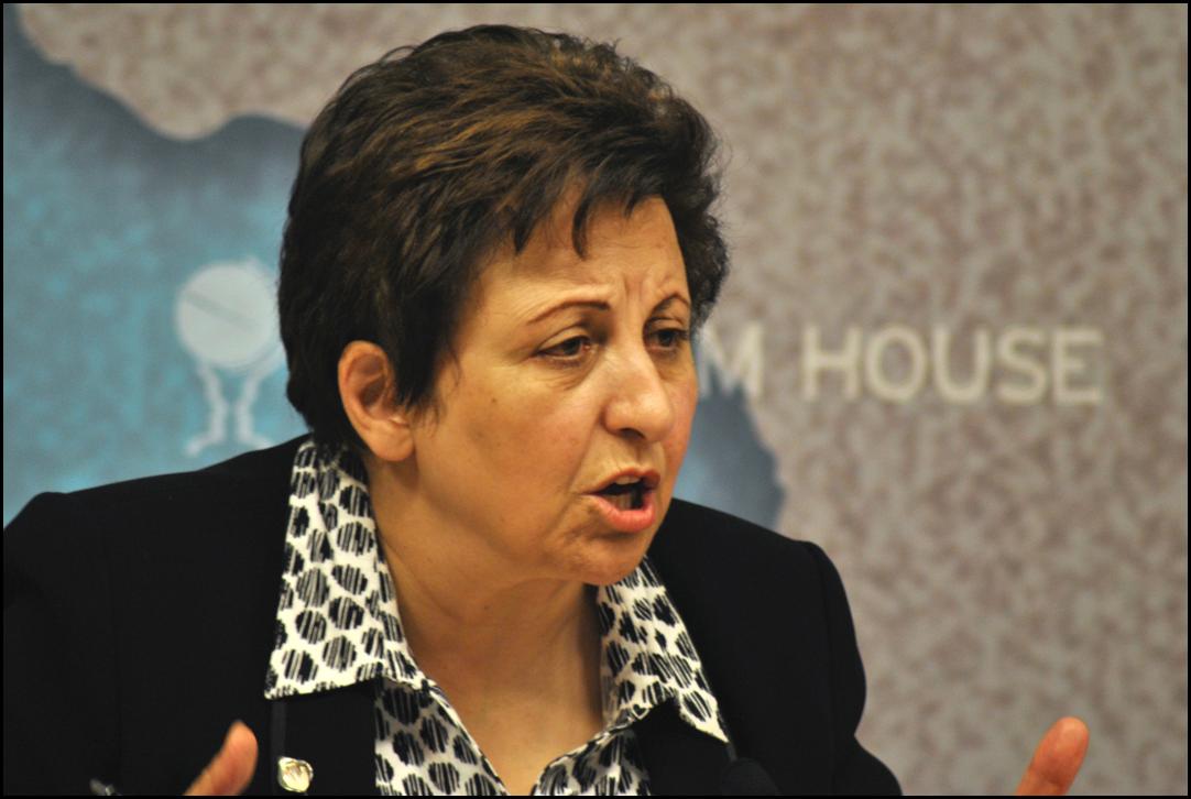 Shirin Ebadi, winner of the 2003 Nobel Peace Prize