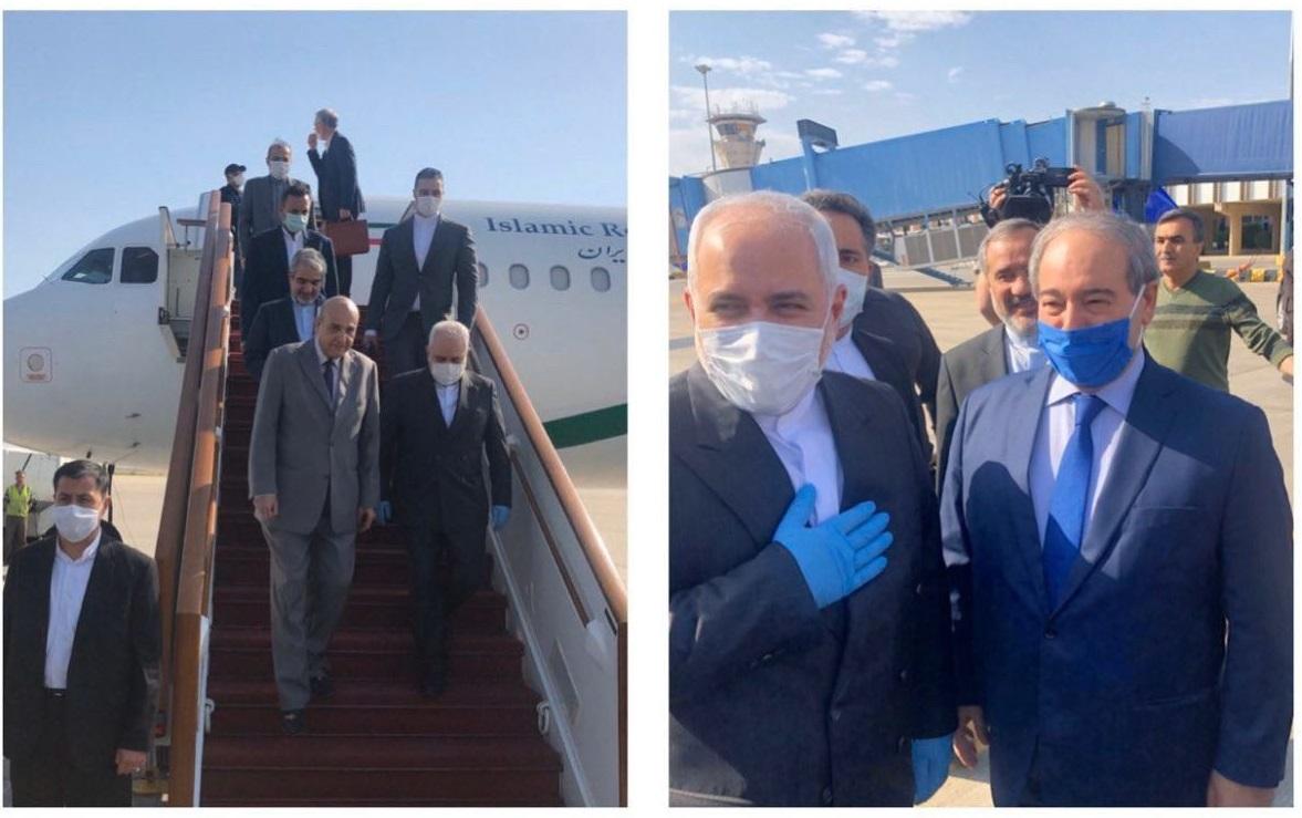 Zarif arrives in Damascus