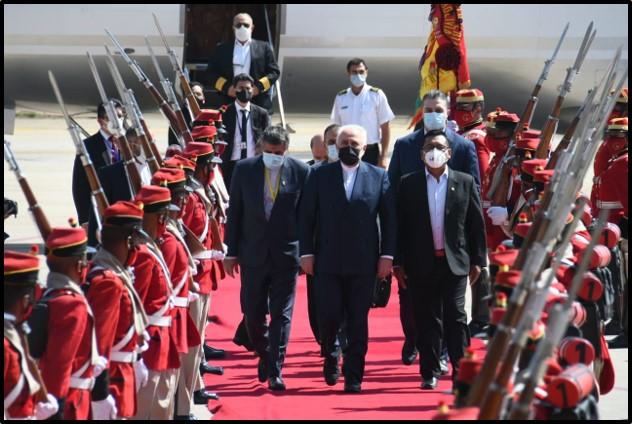 Zarif Bolivia Arrival