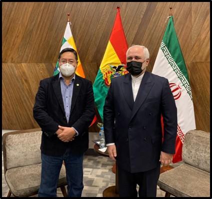 Zarif Bolivian Pres