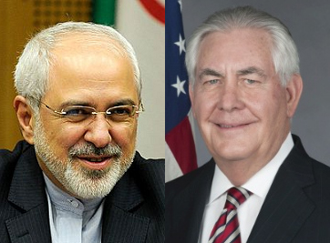 Zarif and Tillerson