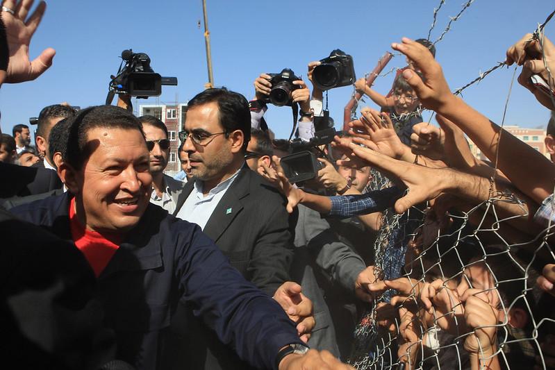 Chavez in Tehran