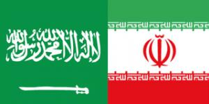 KSA-Iran flags
