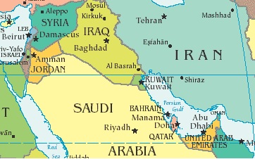 US And Saudi Arabia Differences On Iran The Iran Primer - Where is riyadh